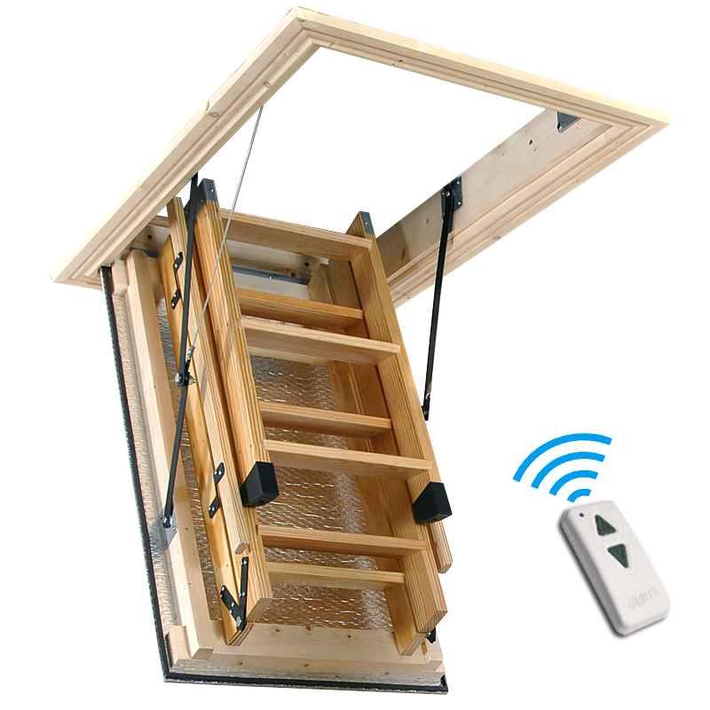 Remote Control Automated Loft Hatches in the Northwest